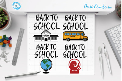 Back to School SVG, School Shirt, School Clipart.