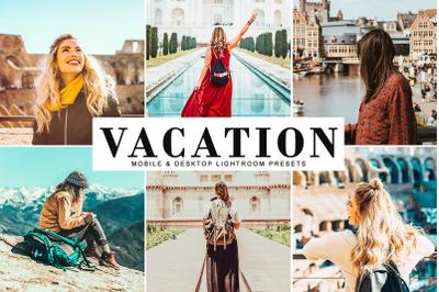 Vacation Mobile & Desktop Lightroom Presets