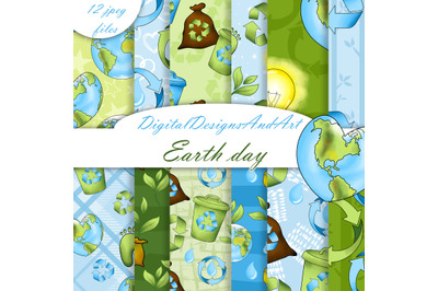 Earth day pattern