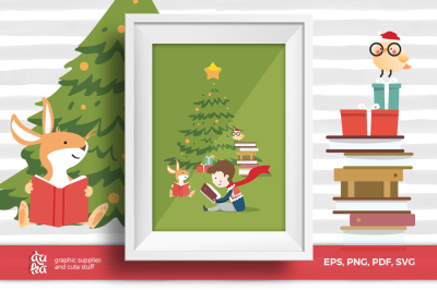 Christmas Card & Vector Elements