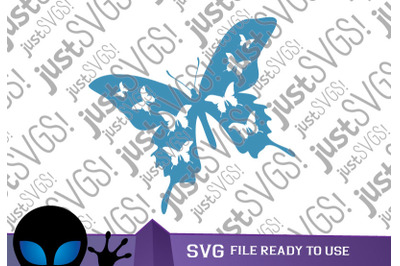 Flying Butterfly svg