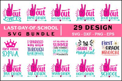 Last day of School Quotes Svg Bundle, T shirt Design
