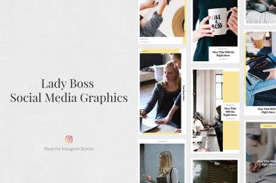 Lady Boss Instagram Stories