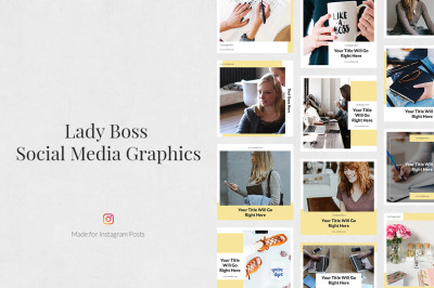 Lady Boss Instagram Posts