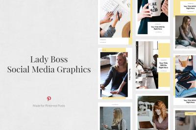 Lady Boss Pinterest Posts