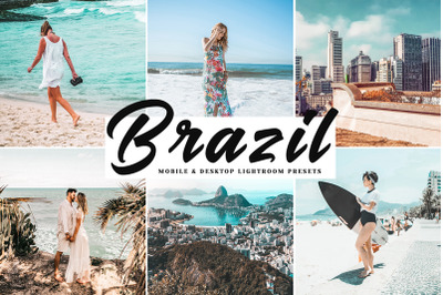 Brazil Mobile & Desktop Lightroom Presets