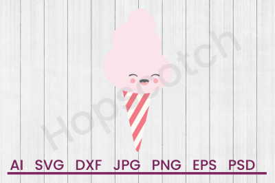 Cotton Candy - SVG File, DXF File