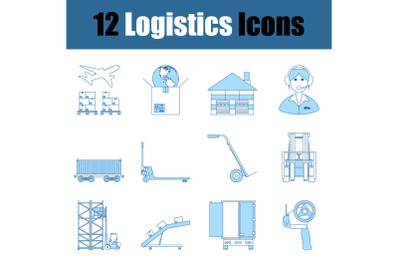 Logistics Icon Set