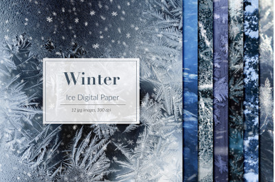 Ice Backgrounds, Frozen Textures