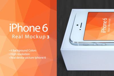 Mockup Iphone 6 Real Photo Mockup 3 for Photoshop