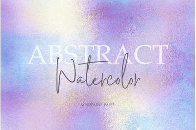 Iridescent Gold & Purple Watercolor Textures