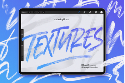 20% OFF | Procreate Textures Brush