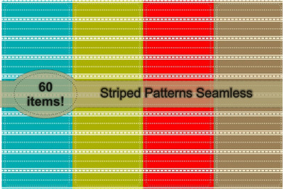 Striped Pattern Seamless Vol. 2