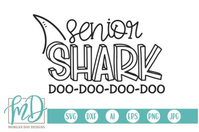 Senior Shark SVG