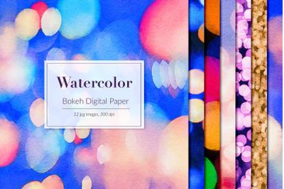 Watercolor Bokeh Backgrounds