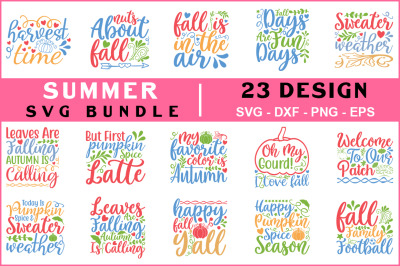 Summer Svg Bundle, T shirt Design
