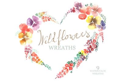 Wildflowers Wreaths