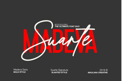 Madeva Suarte Font Duo
