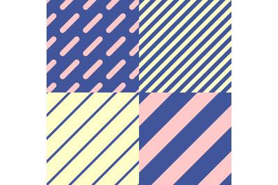 4 patterns set