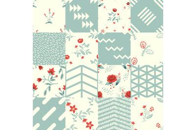 16 patterns set