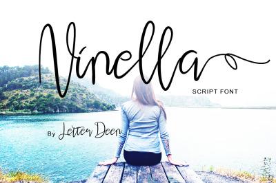 Ninella a Script Font