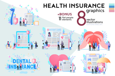 Health Insurance Flat Collection