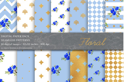 Shabby Chic Digital Papers