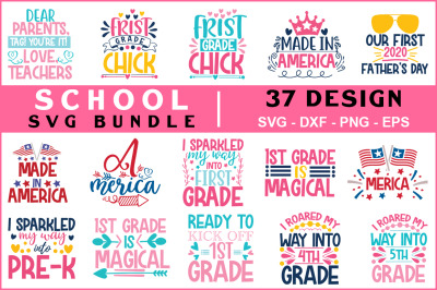 School Quotes Svg Bundle