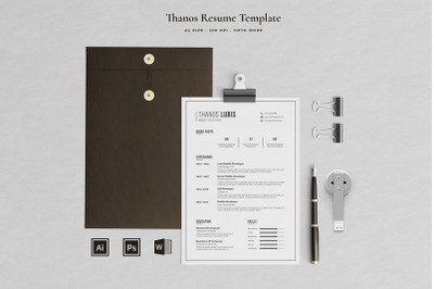 Thanos Resume Template