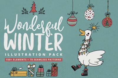Wonderful Winter Illustration Pack