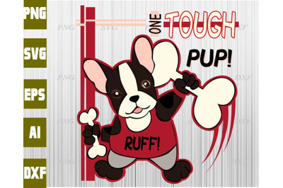 Touch pup svg, dxf,eps,png, Digital Download