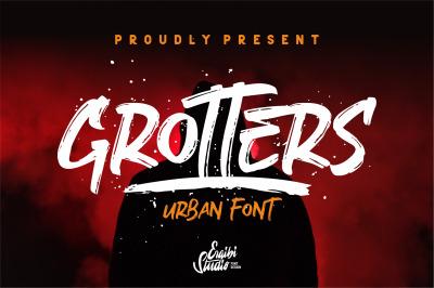 Grotters Urban Font