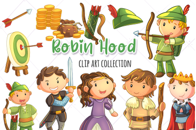 Robin Hood Clip Art Collection