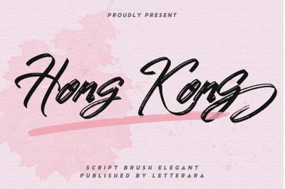 Hongkong Script Brush