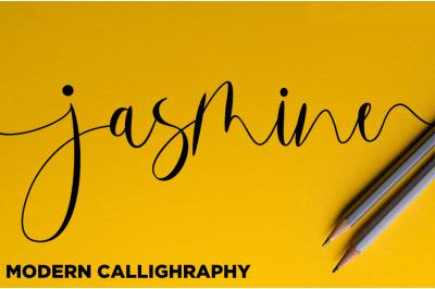 Jasmine // Modern Calligraphy