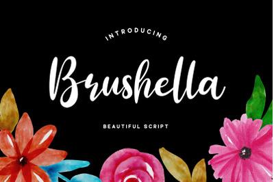 Brushella - Script Font