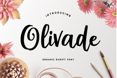 Olivade - Script Font