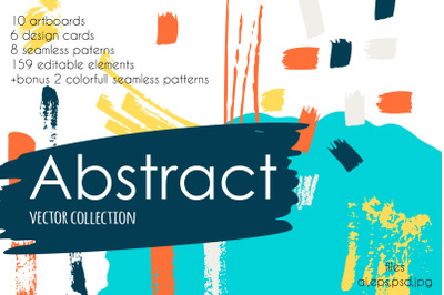 Abstract vector collection