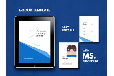 Corporate Company eBook PowerPoint Template