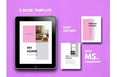 Furniture eBook PowerPoint Template
