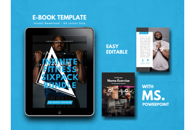 Fitness Gym eBook PowerPoint Template