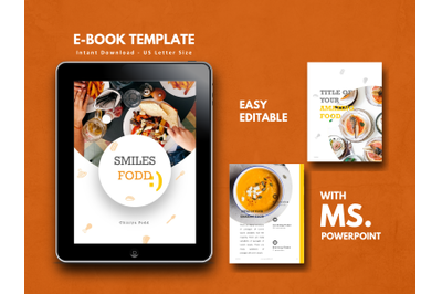 Recipes eBook PowerPoint Template