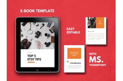 Tips eBook PowerPoint Template