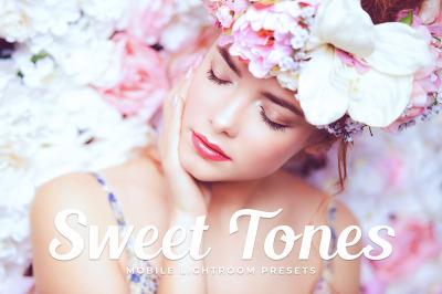 Sweet Tones Mobile & Desktop Lightroom Presets
