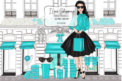 Blue Mint Clipart Fashion Illustrations Breakfast At Clipart