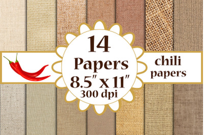 Burlap digital paper, BURLAP PAPER, Craft paper A4 papers