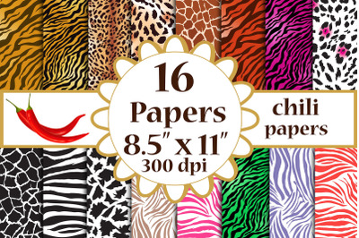 Animal Print paper, Animal Print digital, Animal background,