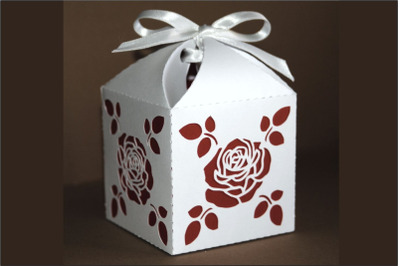 Box 10  single piece with interior color, two sizes SVG files.