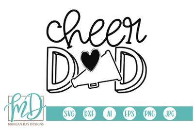 Cheer Dad SVG