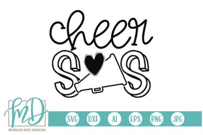Cheer Sis SVG